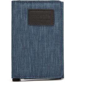 Pacsafe RFIDsafe Trifold Portafoglio, blu